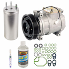 Jeep Wrangler New Compressor with Clutch