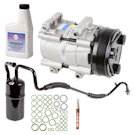 Mercury Sable New Compressor with Clutch