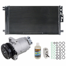AC Compressor and Components Kits for Chevrolet Cobalt, Saturn Ion and Others, 2.0L Engine, 2.2L Engine, 2.2L or 2.4L Engine, with Delphi Compressor