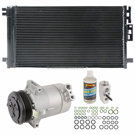 AC Compressor and Components Kits for Chevrolet Cobalt 2005-2007 and Saturn Ion 2004-2007, 2.0L Engine