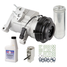 Chrysler Aspen New Compressor with Clutch