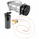 AC Compressor and Components Kits for Chevrolet Nova, Chevrolet Biscayne and Others, A6 Compressor and 5inch Clutch. 1 groove, All Models, Comp type- A6 With 5inch clutch.1 groove