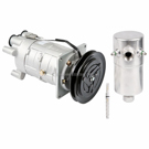 AC Compressor and Components Kits for Chevrolet Nova, Chevrolet Monte Carlo and Others, A6 Compressor and 5.58inch Clutch. 1 groove, All Models, Comp type- A6 With 5.58inch clutch