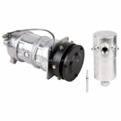 AC Compressor and Components Kits for Chevrolet Nova, Pontiac Phoenix and Others, A6 Compressor and 5inch Clutch. 1 groove, All Models, Comp type- A6