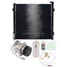 A//C Kit w//AC Compressor Condenser /& Drier For Honda Civic LX DX GX 1.8L Sedan w// 3-Pin Connector BuyAutoParts 60-82557R6 New