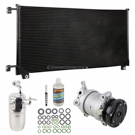 AC Compressor and Components Kits for GMC Sierra, GMC Pick-up Truck and Others,