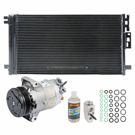 AC Compressor and Components Kits for Chevrolet Cobalt, Pontiac G5 and Others, 2.0L Engine, 2.2L Engine, 2.2L or 2.4L Engine, with Delphi Compressor