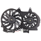 Dual Fan Assembly - 1.8L Models with Air Conditioning