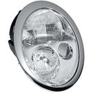Left Driver Side - Halogen without Headlight Cleaning System - Models to Prod Date 6-30-2004