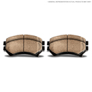 BMW 1500 Brake Pad Set