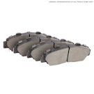 Bentley Continental GT Brake Pad Set
