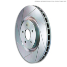 330mm Front Disc - Solid Rear Disc - Front