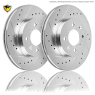 Acura CL Brake Disc Rotor Sets