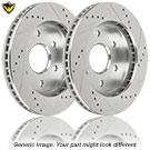 Brake Disc Rotor Set 71-87587 J4