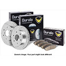 Suzuki Equator Brake Pad and Rotor Kit