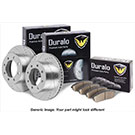 Brake Pad and Rotor Kit 71-92584 J2