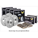 Brake Pad and Rotor Kit 71-93258 J7