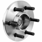 Front Hub -  2WD Models with Rear Wheel ABS
