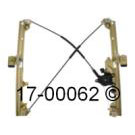Window Regulator with Motor 17-00062 AN