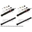 2500 - 4WD - Without Z55 - Without Quadrasteer - Front and Rear Set