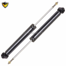 Duralo 1192-1363 New For Chrysler 300 /& Dodge Magnum Pair Rear Shocks