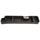 F250 Super Duty - Extended Cab Pickup - Under Seat Storage Box - Gearbox Storage Systems - Black