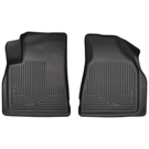 2nd Row Bucket Seats - Front Floor Liners - Weatherbeater Series - Black