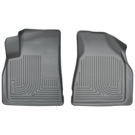 2nd Row Bucket Seats - Front Floor Liners - Weatherbeater Series - Grey