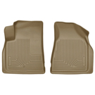 2nd Row Bucket Seats - Front Floor Liners - Weatherbeater Series - Tan