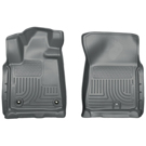 Crew Cab Pickup - Front Floor Liners - Weatherbeater Series - Grey