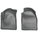 Front Floor Liners - Weatherbeater Series - Grey