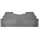 2nd Row Bucket Seats - 2nd Seat Floor Liner - Weatherbeater Series - Grey