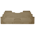 2nd Row Bucket Seats - 2nd Seat Floor Liner - Weatherbeater Series - Tan