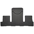 2nd Row Bucket Seats - 3rd Seat Floor Liner - Weatherbeater Series - Black