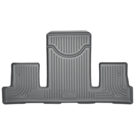 2nd Row Bucket Seats - 3rd Seat Floor Liner - Weatherbeater Series - Grey