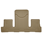 2nd Row Bucket Seats - 3rd Seat Floor Liner - Weatherbeater Series - Tan