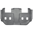 Suburban - 2nd Row Bucket Seats - 3rd Seat Floor Liner - Weatherbeater Series - Grey