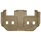 Suburban - 2nd Row Bucket Seats - 3rd Seat Floor Liner - Weatherbeater Series - Tan