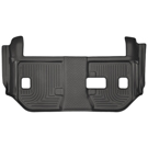 Suburban - 2nd Row Bench Seats - 3rd Seat Floor Liner - Weatherbeater Series - Black