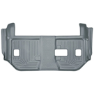 Suburban - 2nd Row Bench Seats - 3rd Seat Floor Liner - Weatherbeater Series - Grey