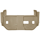 Suburban - 2nd Row Bench Seats - 3rd Seat Floor Liner - Weatherbeater Series - Tan