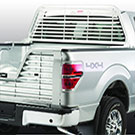 F150 - Sunshade - Aluminum Accessories - Silver