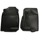 1500 - Front Floor Liners - Classic Style Series - Black