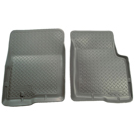 2 - Front Floor Liners - Classic Style Series - Grey