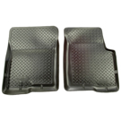 B3000 - Front Floor Liners - Classic Style Series - Black