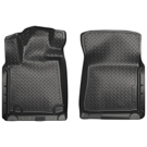 Crew Cab Pickup - Front Floor Liners - Classic Style Series - Black