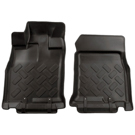 Automatic - Front Floor Liners - Classic Style Series - Black