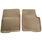 Crew Cab Pickup - Front Floor Liners - Classic Style Series - Tan