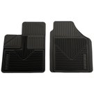 2 - Front Floor Mats - Heavy Duty Floor Mats - Black