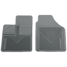 2 - Front Floor Mats - Heavy Duty Floor Mats - Grey